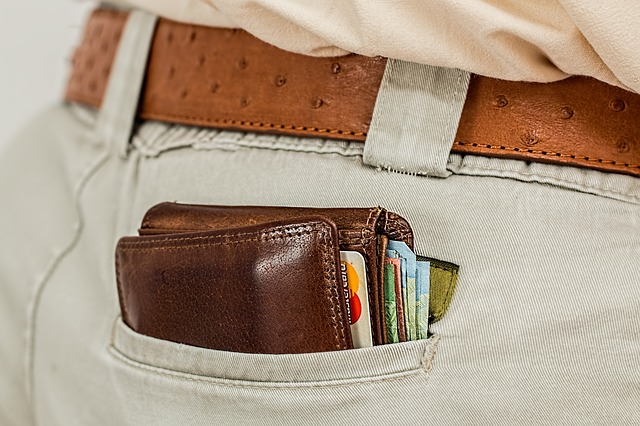 A wallet.
