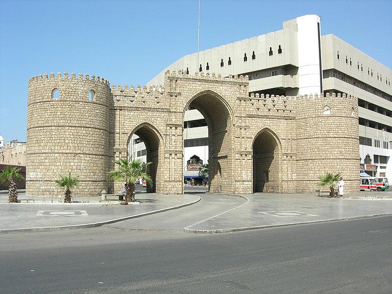 Bab Makkah in Jeddah, SA