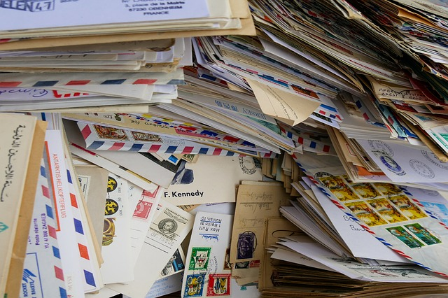 Letters and parcels.