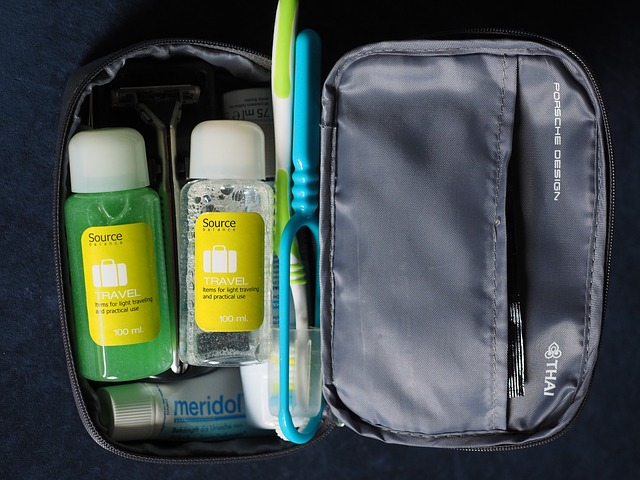 Travel size products.
