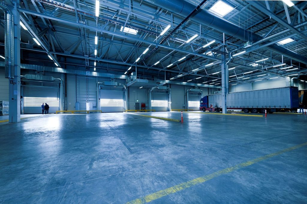 A warehouse in Saudi Arabia offered by Four Winds
