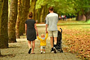 A family walking together-prepare your family for moving abroad