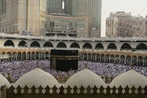 Mecca is a must-see when you spend summer in Saudi Arabia.