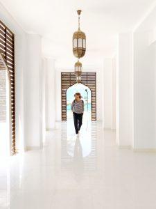 Hallway in a minimalist style