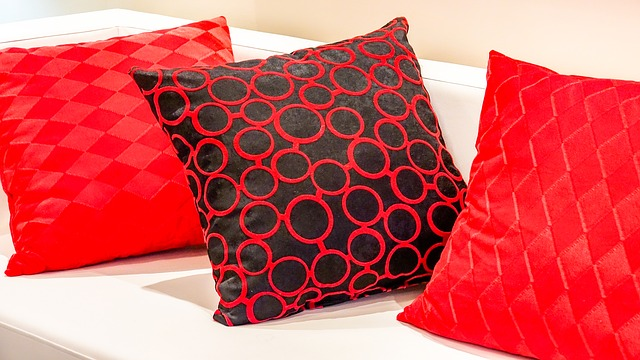 Pillows can be especially hard to clean.