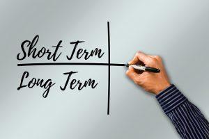 Long term vs short term storage