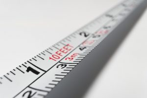 Measuring tape to help you calculate your international moving cost