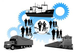 Illustration of the freight forwarding business as on of the Import/export cost-saving tips