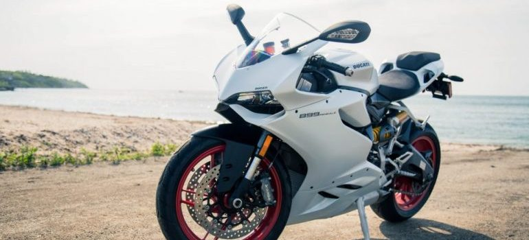 Image of a sports motorcycle
