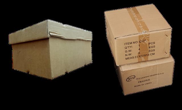 Few boxes