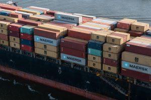 cargo on a ship