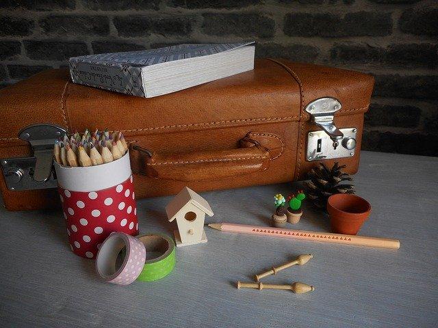 A small box