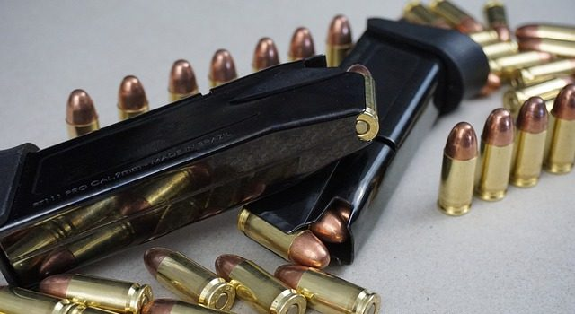 bullets and a magazine