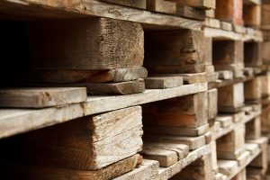 Pallets as a storage equipment