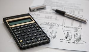 Picture of financial papers