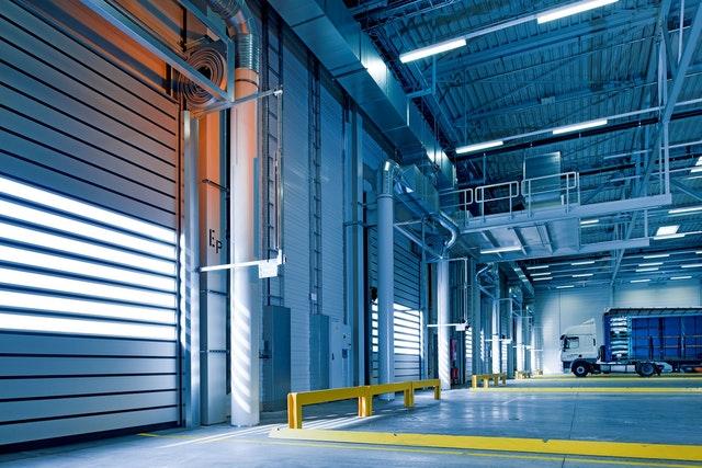 A warehouse in Saudi Arabia