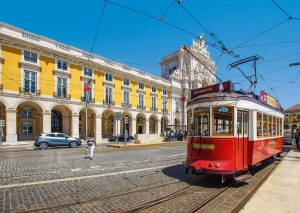 Picture of Lisbon tram