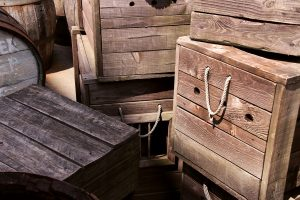 Picture of wooden crates