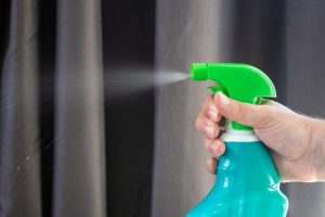 Using a sanitizing product