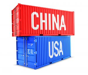 Picture of shipping container. What are the items people usually ship to KSA?