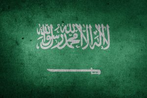 Picture of Saudi Arabia flag. This country is one of the top destinations for moving overseas in 2020