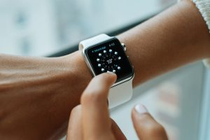 Picture of a smart watch