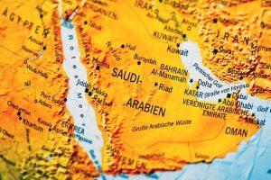 Picture of Saudi Arabia map