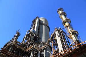 Picture of oil refinery