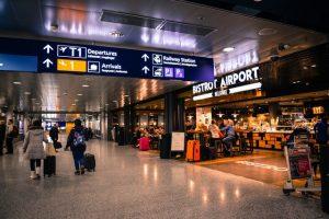 A terminal at an airport