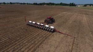 Machine in field