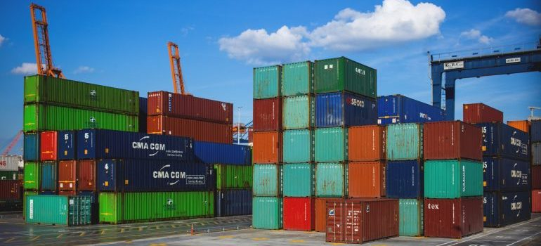 A reliable shipping company will handle your cargo with care.