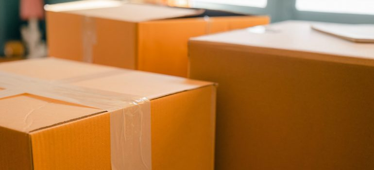High-quality boxes for when you move your office overseas.