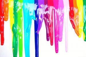Multiple color paints