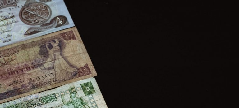 sorted out banknotes