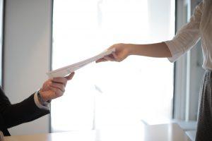 Taking document