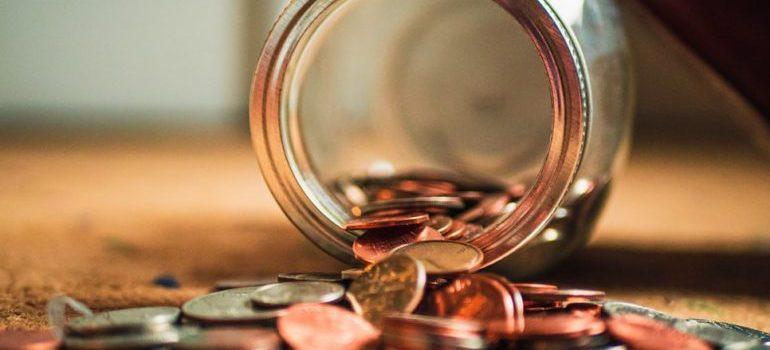 A jar of money
