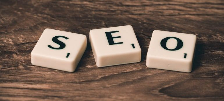 SEO written on small scrabble cubes, which represents something that can help you grow your business online