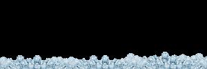 ice cubes laying around
