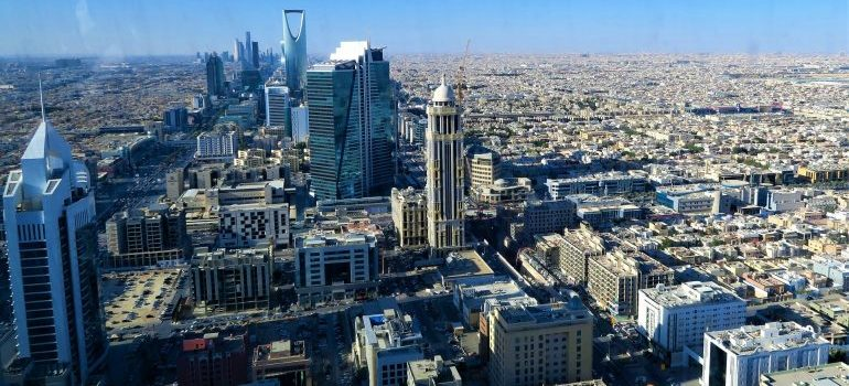 buildings in Riyadh - Best places for startups in KSA