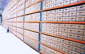 inventory on racks