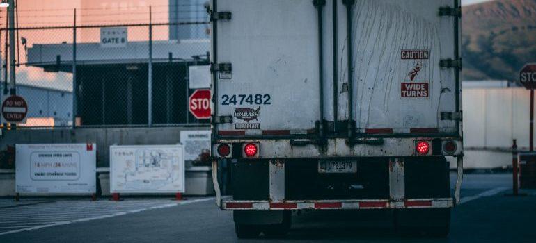 Freight truck.