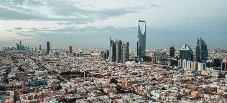 Beautiful Riyadh skyline