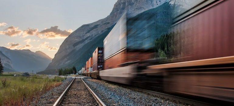 Rail freight.