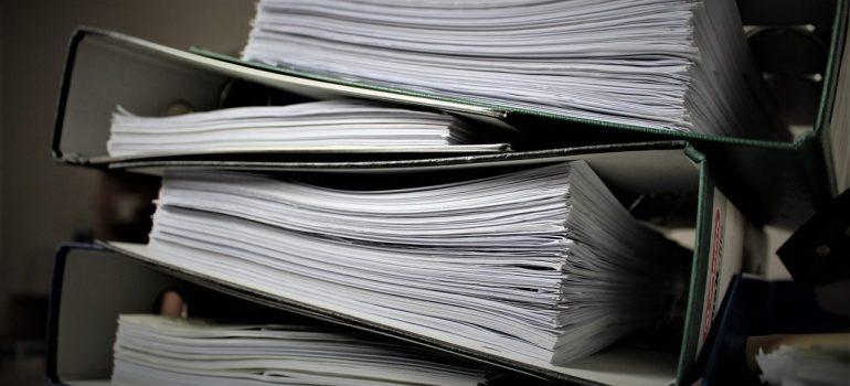 Custom clearance paperwork