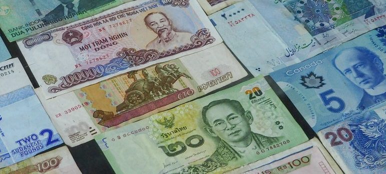 Various money bills